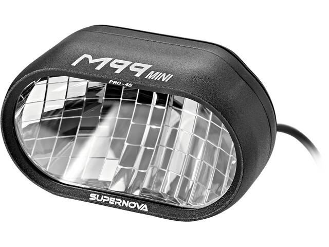 Supernova M99 Mini Pro 45 Faretto anteriore bici elettrica, black